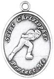 St. Christopher Sports Medals-Rollerbalding (Women)