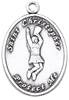 St. Christopher Sports Medals-Cheerleading