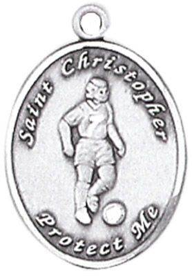 St. Christopher Sports Medals-Soccer (Women)
