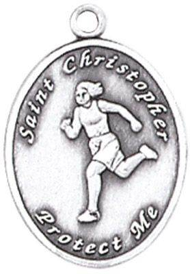 St. Christopher Sports Medals-Track (Women)