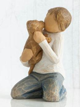 Willow Tree Kindness Boy Figure