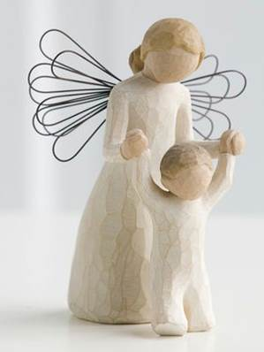 Willow Tree Guardian Angel Figure