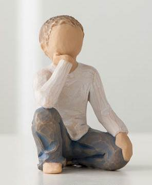 Willow Tree Inquisitive Child Figure