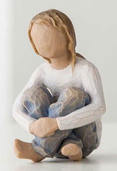 Willow Tree Spirited Child Figure