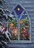 Nativity Window Advent Calendar