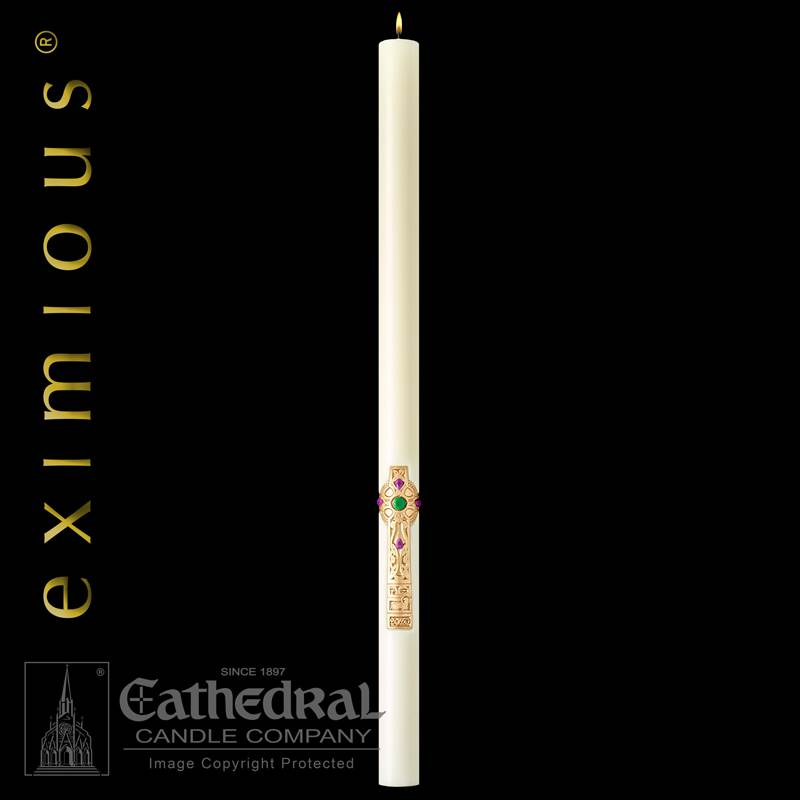 Cross of Erin Paschal Candle