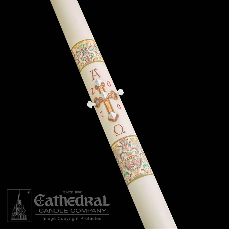Investiture™ Paschal Candle Paschal Candle, Easter Candle, Paschal, Easter, Cathedral Candle, investiture, Beeswax, candle, Beeswax candle, Easter Vigil,80866020,80866030, 80866035,80866040,80866042,80866052,80866045,80866050,80866070,80866080,80866065,80866085,80866100,80866090,80866110,80866150,80866200