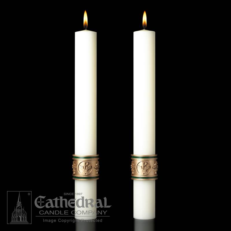 Cross of St. Francis™ Complementing Altar Candles Cross of St. Francis™ Complementing Altar Candles,80986525,80986526,80986555,80986556
