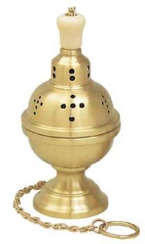 K101 Censer & Boat K101,censer and boat,censer,boat,boat with spoon,incense spoon,eastern rite censer and boat,incense burner,incense,charcoal,original one chain censer