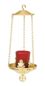 K163 Hanging Votive Lamp K163,hanging sanctuary lamp, sanctuary lamp, sancturay, lamp, wall bracket, chain, ceiling hook, counter balance