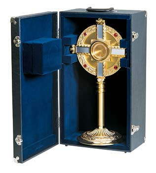 K223 Carrying Case K223 Carrying Case, monstrance, ostensorium, luna, thabor, exposition, host, monstrance case, case, chapel monstrance