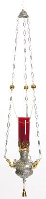 K297 Hanging Sanctuary Lamp K297,hanging sanctuary lamp, sanctuary lamp, sancturay, lamp, wall bracket, chain, ceiling hook, counter balance