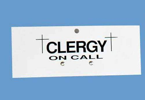 K3305 Clergy On Call Sign