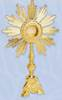 K686 Monstrance K686 Monstrance, monstrance, ostensorium, luna, thabor, exposition, host, chapel monstrance