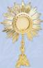 K687 Monstrance K687 Monstrance, monstrance, ostensorium, luna, thabor, exposition, host, chapel monstrance