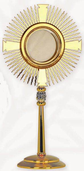 K767 Monstrance K767 Monstrance, monstrance, ostensorium, luna, thabor, exposition, host, chapel monstrance