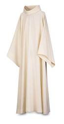 44-92 Sanctuary Alb in White Brugia Fabric