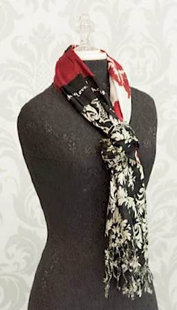 Faith, Hope, Love Scripture Scarf  scarf, scripture scarf, apparel, mothers gift, womens gift, accessory, wrap, inspirational scarf,faith,hope, love, black and white and red scarf, 18733