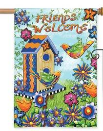 Friends Welcome House Flag