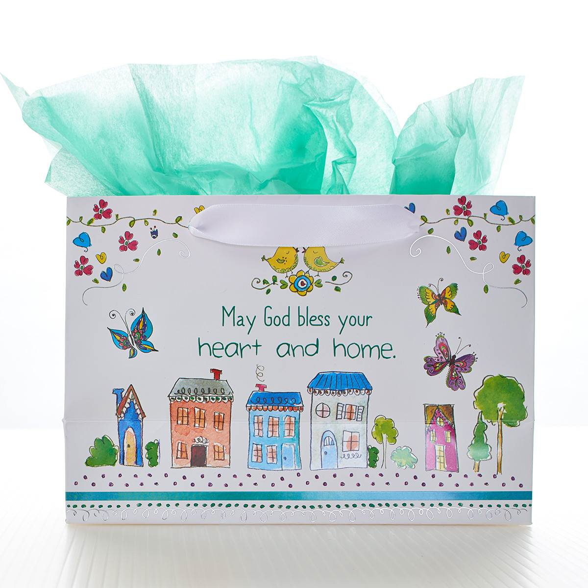 May Your Day be Blessed Small Gift Bag GBA145, gift bag, small bag, special occasion bag, stationary