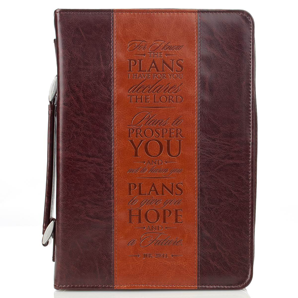 I Know the Plans Large Bible Case