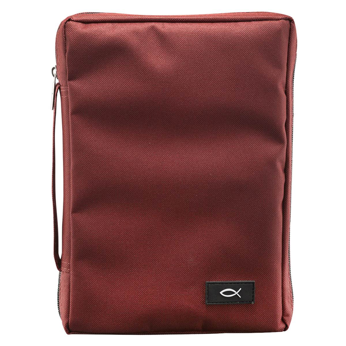 Medium Burgundy Bible Cover