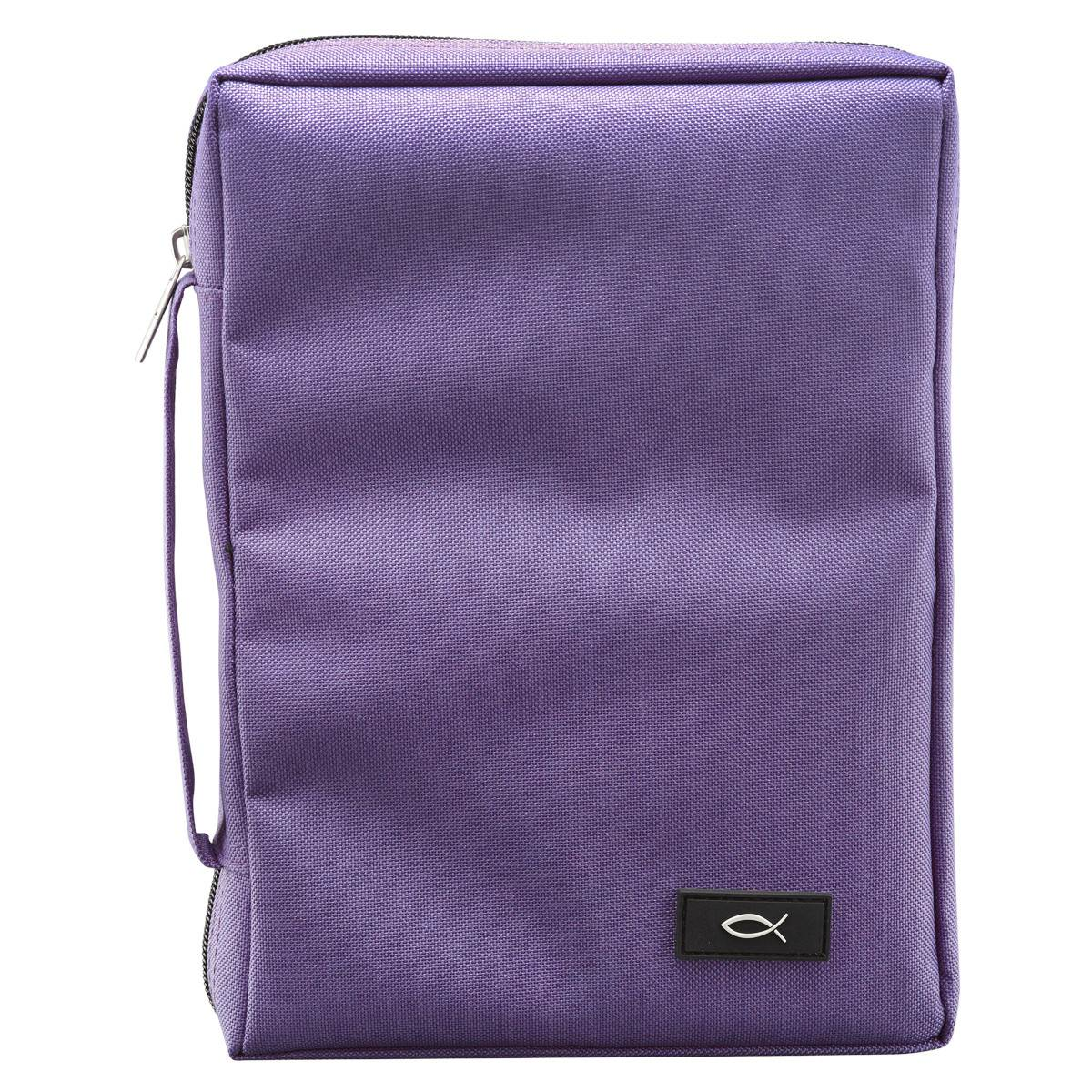 Medium Dahila Purple Bible Cover
