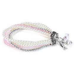 Multi Strand Stretch Hope Bracelet