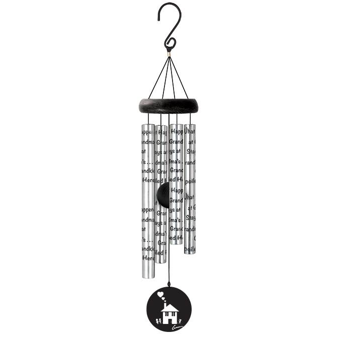 "21"" Wind Chime Grandkids wind chime, outdoor d?cor, porch chime, new home gift, house warming gift, grandkids, grandchildren,62990"