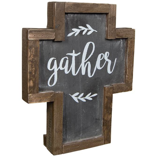 Gather Rustic Cross