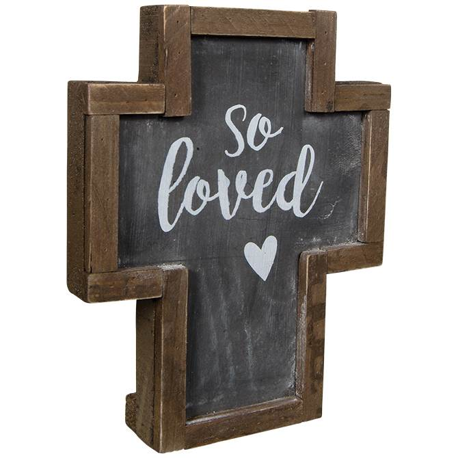So Loved Rustic Cross