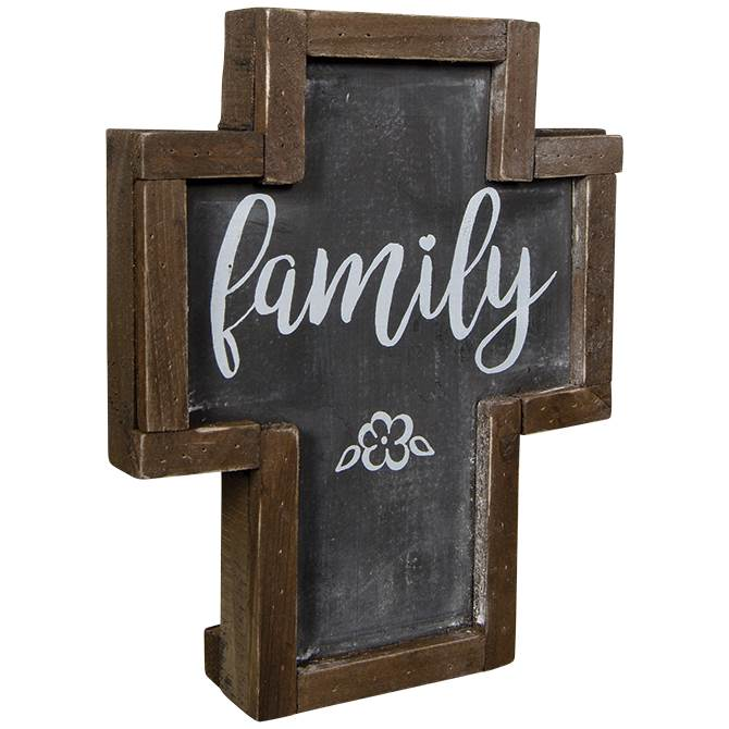 Family Rustic Cross
