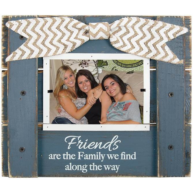 Friends Wood Photo Frame