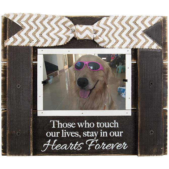 Hearts Forever Wood Photo Frame