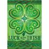 Luck of the Irish Garden Flag garden flag, house flag, occasion flag, outdoor flag, landscape, decorative flag, yard flag, new house gift, holiday gift, st. patricks, irish, holiday46103