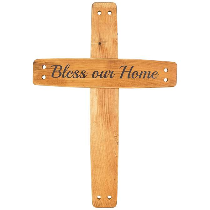 Bless Our Home Wall Cross bless our home, wall cross, home cross, message cross, 13394