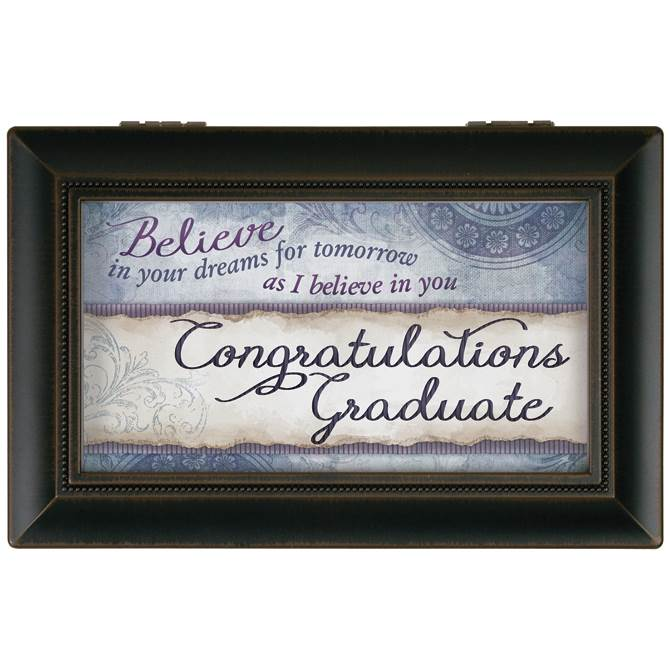 Believe Graduation Music Box