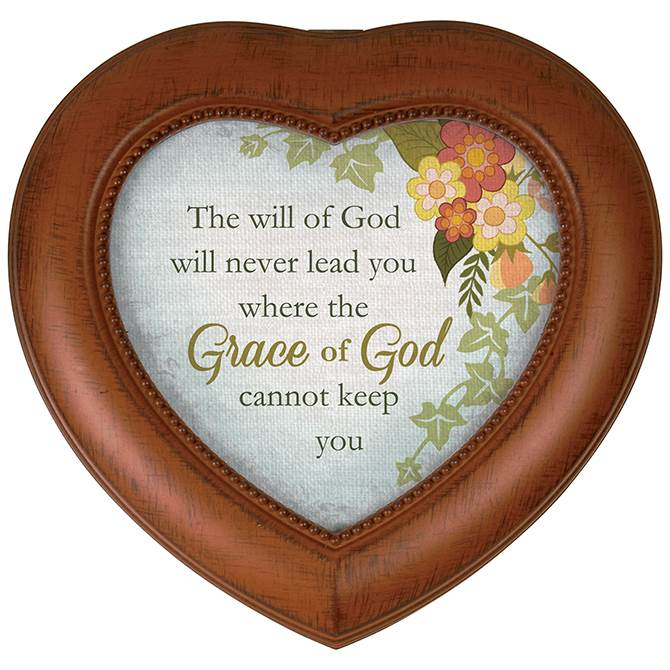 Grace of God Heart Music Box