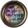 Grateful Heart Round Music Box