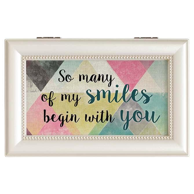 Smiles Begin With You Music Box