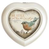 Be Still Heart Music Box