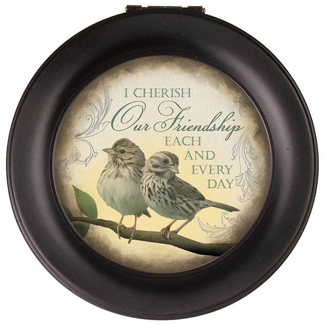 Friendship Round Music Box