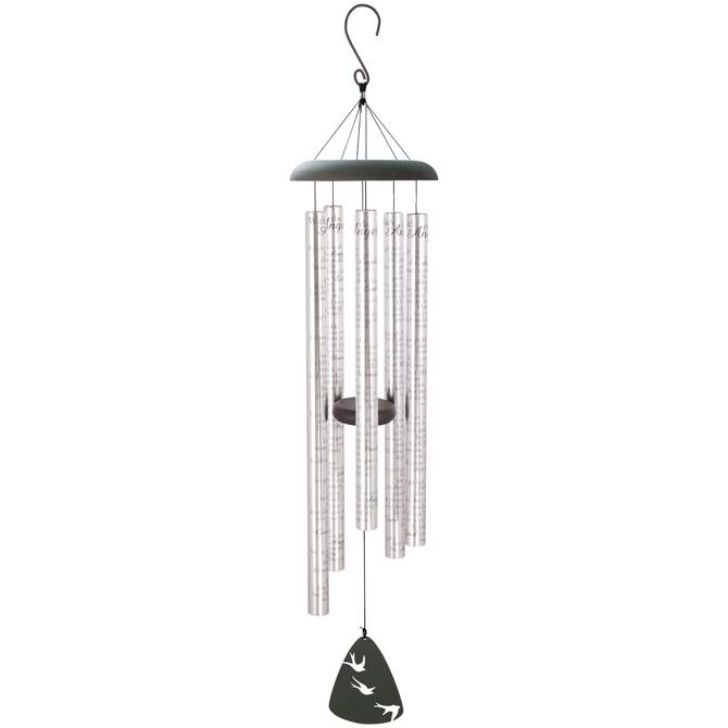 "With The Angels 44"" Wind Chime"
