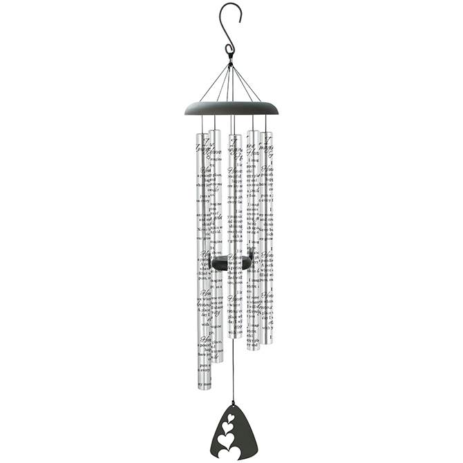 "I Imagine Heaven 44"" Wind Chimes"