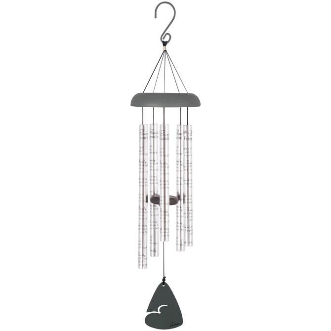 "Faith, Family, Friends 30"" Wind Chime"