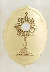 Embossed Monstrance Seal