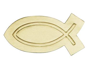 Gold Fish Embossed Seal