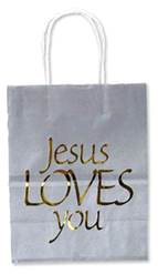 Jesus Loves You Gift Bag gift bag, religious gift bag, sacramental gift bag, christian gift bag, RSSTW-56