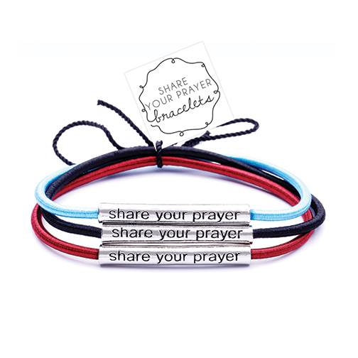 Assorted Share Your Prayer Bracelet
