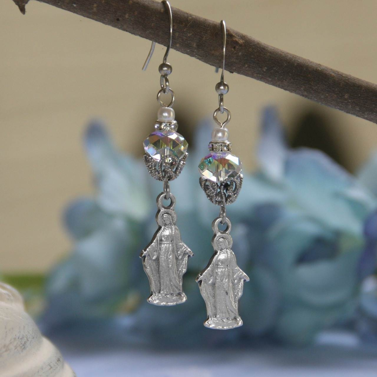 Mary Earrings earrings, mary earrings, drop earrings, jewelry, in-56